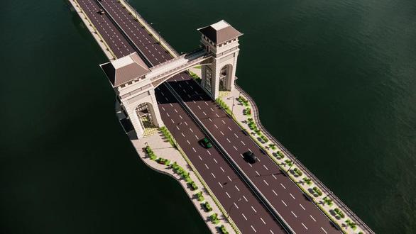 Cầu Trần Hưng Đạo pha trộn nhiều chi tiết có từ thời trung cổ? - Ảnh 2.