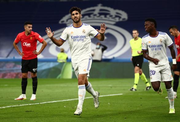 Đại thắng Mallorca 6-1, Real Madrid trở lại ngôi đầu bảng - Ảnh 2.