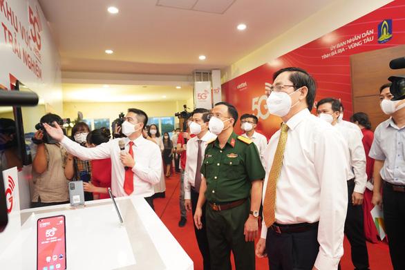 Nhà mạng đầu tiên triển khai mạng 5G tại Bà Rịa - Vũng Tàu - Ảnh 1.