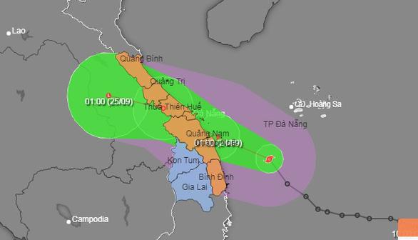 Phó thủ tướng họp khẩn ứng phó bão số 6, nhiều tỉnh miền Trung có nguy cơ ngập lụt - Ảnh 1.