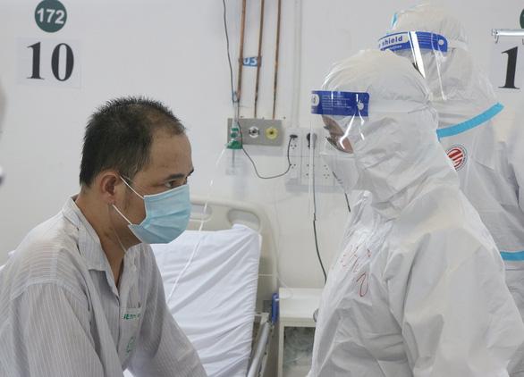 Nam bệnh nhân 36 tuổi ở TP.HCM hỏi bác sĩ bao giờ em chết giờ thế nào? - Ảnh 1.