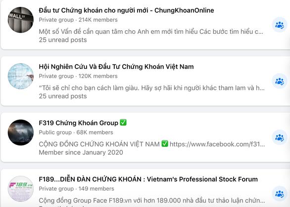 Một loạt nhóm chứng khoán hàng trăm ngàn thành viên bị xóa sổ trên Facebook - Ảnh 2.