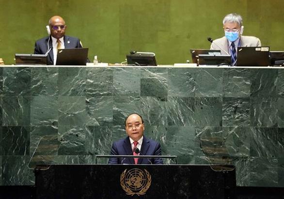 Chủ tịch nước khuyến nghị 3 nhóm giải pháp cho vấn đề khí hậu tại Liên Hiệp Quốc - Ảnh 1.