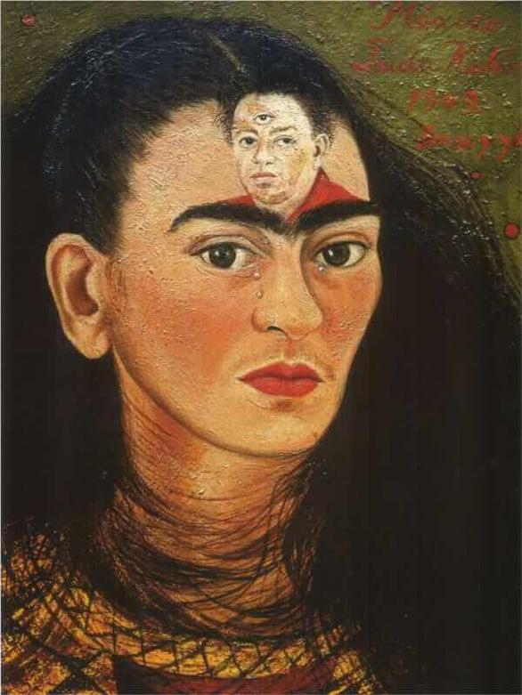 Bức tranh Diego and I của thánh nữ hội họa Frida Kahlo dự kiến bán trên 30 triệu USD - Ảnh 1.