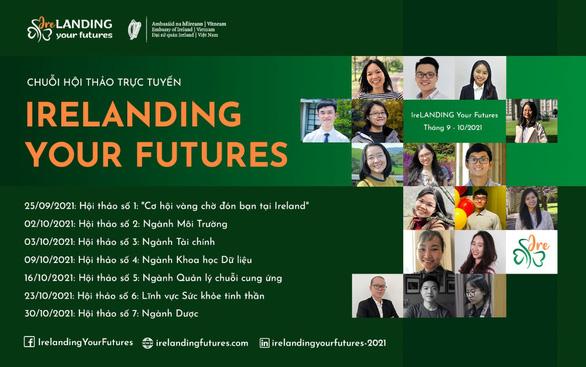'Khám phá cơ hội phát triển ngành nghề tại chuỗi hội thảo trực tuyến IreLANDING Your Futures 2021' - Ảnh 1.