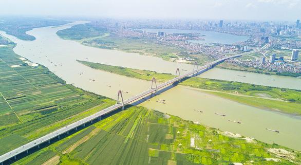 Quy hoạch đô thị sông Hồng, hướng thành phố quay mặt vào sông - Ảnh 1.
