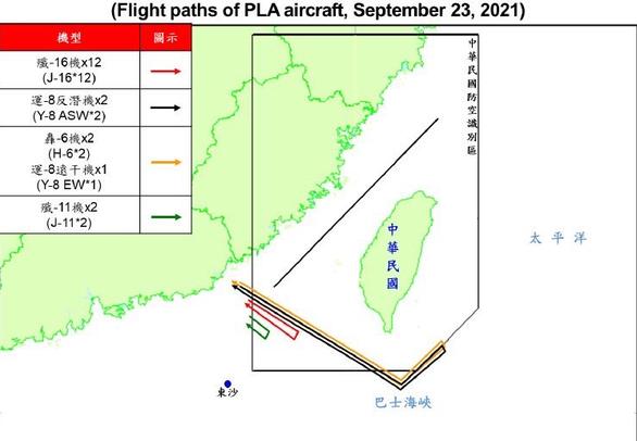 Trung Quốc phản đối Đài Loan gia nhập CPTPP, điều 19 máy bay xâm nhập ADIZ Đài Loan - Ảnh 2.