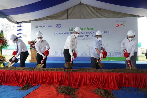 TP.HCM: Thủ Đức khởi công 4 công trình nhà ở, trường học - Ảnh 1.