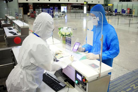 Bamboo Airways thử nghiệm thành công hộ chiếu sức khỏe điện tử trên chuyến bay thẳng đầu tiên tới Mỹ - Ảnh 3.