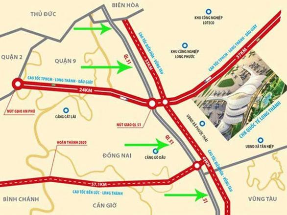 Thủ tướng phê duyệt chủ trương đầu tư đường cao tốc Biên Hòa - Vũng Tàu - Ảnh 1.
