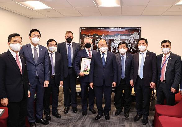 Chủ tịch nước đánh giá cao hoạt động của Exxon Mobil tại vùng biển của Việt Nam - Ảnh 1.