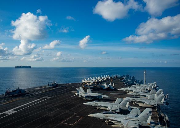 Lần thứ hai trong năm, tàu sân bay Mỹ trở lại Biển Đông - Ảnh 1.