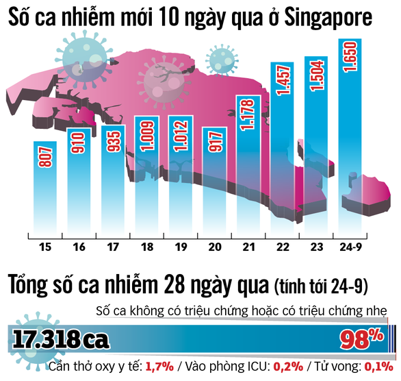Số ca nhiễm tăng vọt, Singapore 50 ngày từ hy vọng sang lo âu - Ảnh 2.