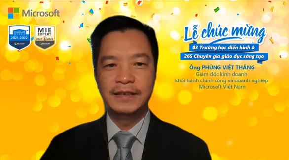 3 trường học Việt Nam đạt chứng nhận Trường học điển hình Microsoft - Ảnh 2.