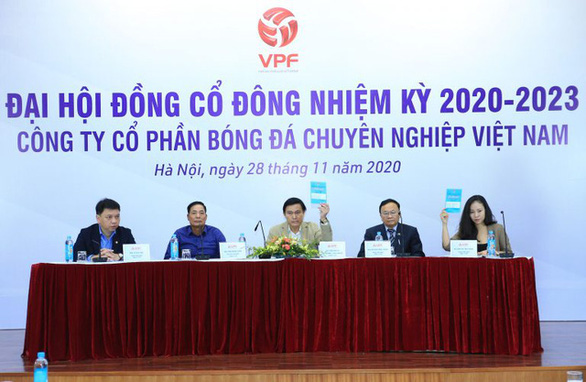 VPF không tổ chức đại hội đồng cổ đông bất thường theo yêu cầu của CLB Hoàng Anh Gia Lai - Ảnh 1.