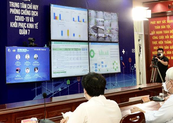 Quận 7 ra mắt trung tâm công nghệ phục vụ chống dịch COVID-19 và phục hồi kinh tế - Ảnh 4.