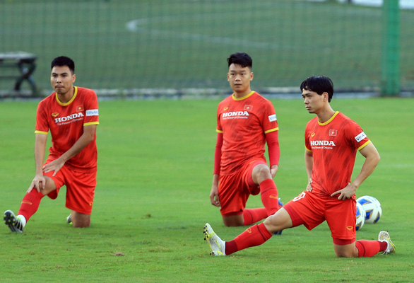Công Phượng ghi 4 bàn sau 3 trận đấu tập cho tuyển Việt Nam - Ảnh 1.