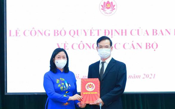 Ông Triệu Tài Vinh làm phó Ban Dân vận Trung ương - Ảnh 1.