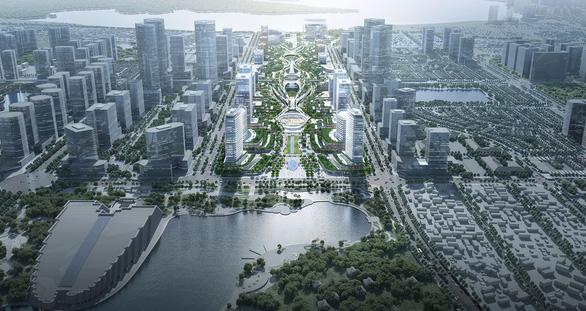 Chốt ý tưởng quy hoạch, kiến trúc xây trung tâm hành chính mới tại Tây Hồ Tây - Ảnh 2.