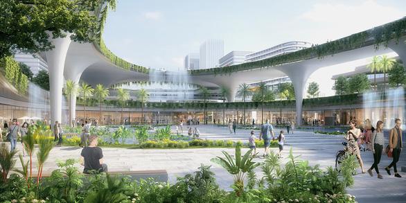 Chốt ý tưởng quy hoạch, kiến trúc xây trung tâm hành chính mới tại Tây Hồ Tây - Ảnh 3.