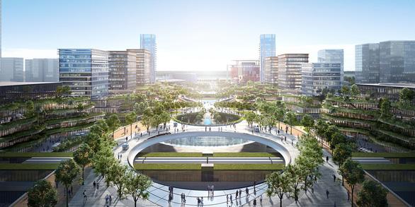 Chốt ý tưởng quy hoạch, kiến trúc xây trung tâm hành chính mới tại Tây Hồ Tây - Ảnh 5.