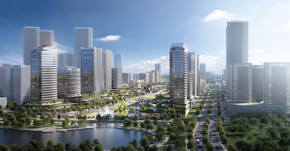 Chốt ý tưởng quy hoạch, kiến trúc xây trung tâm hành chính mới tại Tây Hồ Tây - Ảnh 1.