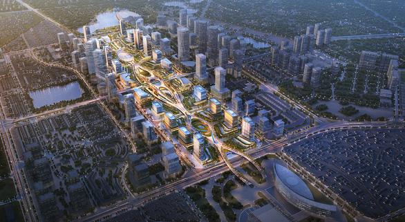 Chốt ý tưởng quy hoạch, kiến trúc xây trung tâm hành chính mới tại Tây Hồ Tây - Ảnh 4.