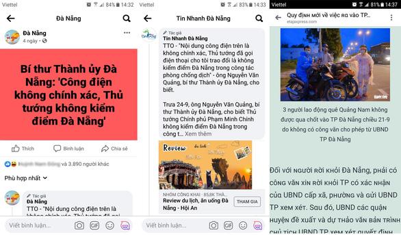 Nở rộ các trang web, trang mạng xã hội 'chôm chỉa' tin bài trên báo chí - Ảnh 1.