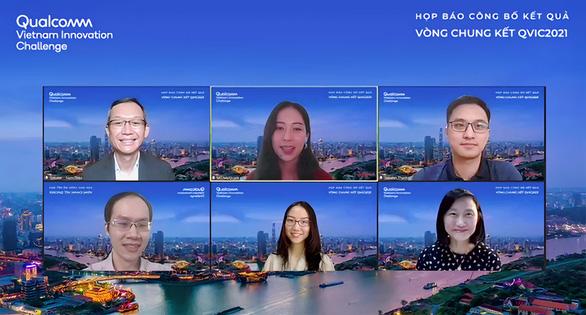 Ứng dụng robot và trí tuệ nhân tạo thắng giải thi thử thách đổi mới sáng tạo Qualcomm Việt Nam - Ảnh 1.