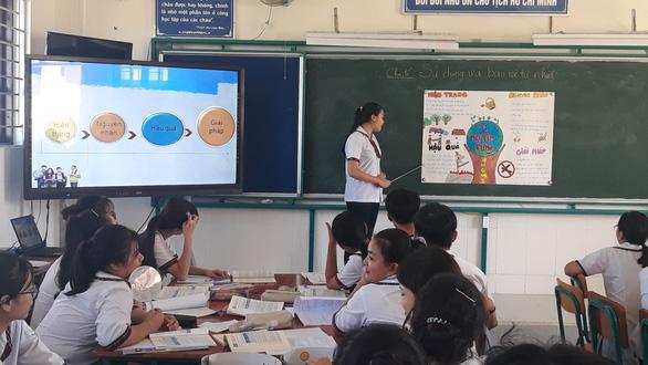 Một trường ở TP.HCM đề xuất cho học sinh đi học lại từ 4-10 - Ảnh 1.