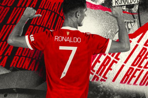 Ronaldo mặc áo số 7 ở Man Utd, Cavani đổi sang số 21 - Ảnh 1.