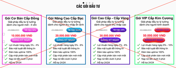 Shark Tank Việt Nam bị lấy ảnh quảng cáo cho trò đầu tư lãi khủng - Ảnh 2.