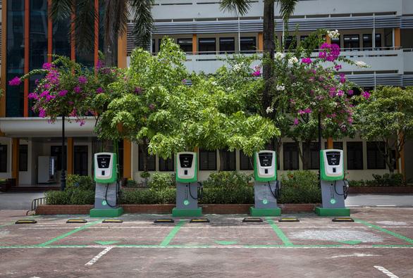 Đề xuất các khu đô thị, chung cư phải có trạm sạc pin cho xe điện - Ảnh 1.