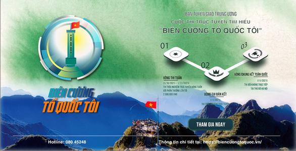 Thí sinh từ Tiền Giang chiếm nhiều giải cuộc thi tìm hiểu biên cương - Ảnh 1.