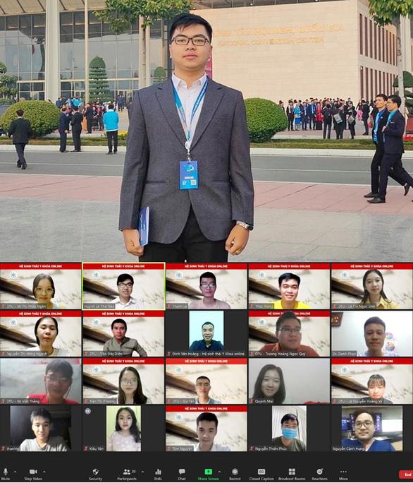 'Hệ sinh thái Y khoa online' của nhóm Y khoa, ĐH Duy Tân đạt giải nhất Thanh niên Kiến tạo năm 2021 - Ảnh 1.