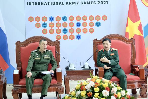 Nga mong muốn Bộ Quốc phòng Việt Nam ủng hộ Army Games  - Ảnh 1.