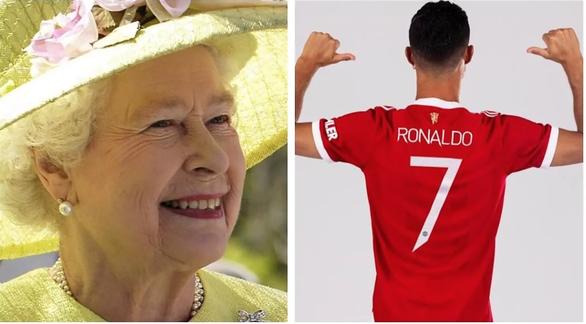 Nữ hoàng Anh yêu cầu được sở hữu áo đấu có chữ ký của Ronaldo? - Ảnh 1.