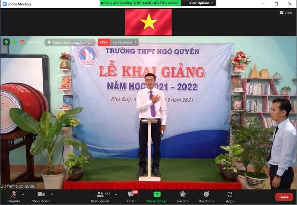 Khai giảng trực tuyến từ đảo Phú Quý kết nối du học sinh tại Nhật để truyền cảm hứng - Ảnh 1.