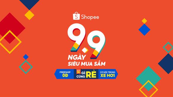 Shopee mở màn mùa sale sôi động nhất năm với sự kiện 9.9 Ngày Siêu Mua Sắm - Ảnh 1.