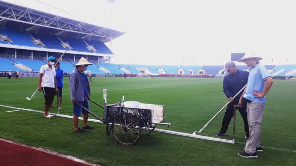 Sân Mỹ Đình đã sẵn sàng cho trận đấu giữa đội tuyển Việt Nam và Úc - Ảnh 2.