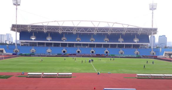 Sân Mỹ Đình đã sẵn sàng cho trận đấu giữa đội tuyển Việt Nam và Úc - Ảnh 1.