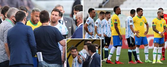 Được mời trở lại sân thi đấu, Messi giận dữ: Đây là mớ hỗn độn. Chúng tôi nghỉ - Ảnh 2.