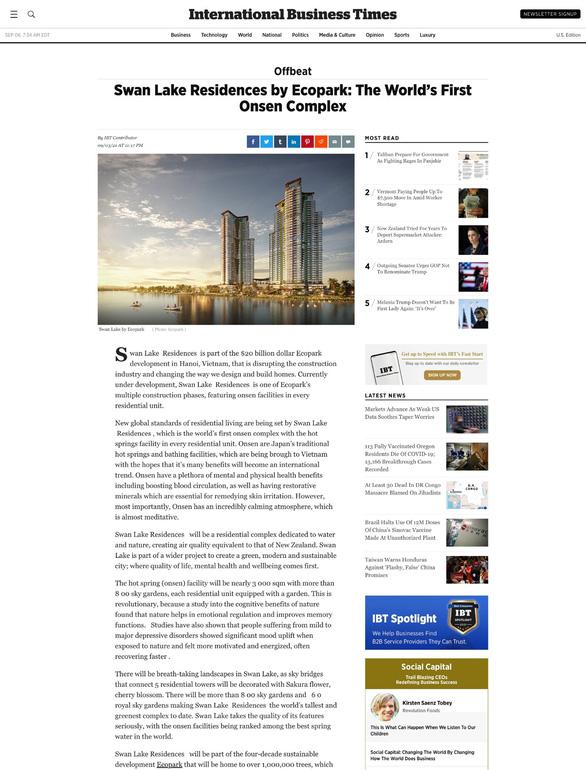 Báo quốc tế: Việt Nam có tổ hợp khoáng nóng cao tầng đầu tiên thế giới - Ảnh 1.