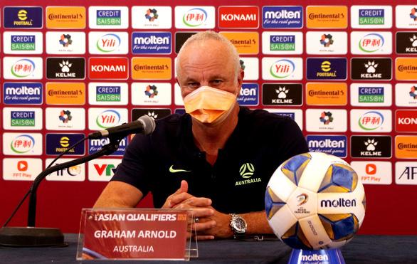 HLV Graham Arnold: 'Tuyển Úc có thể đã đạt được kết quả tốt hơn' - Ảnh 1.