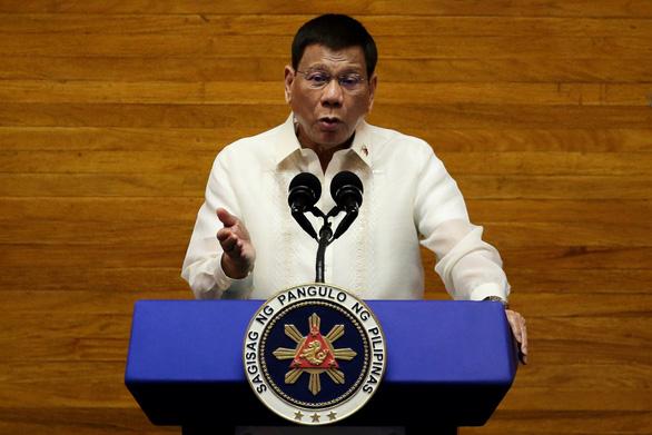 Ông Duterte nói ra tranh cử tiếp vì yêu nước, không phải tham quyền - Ảnh 1.