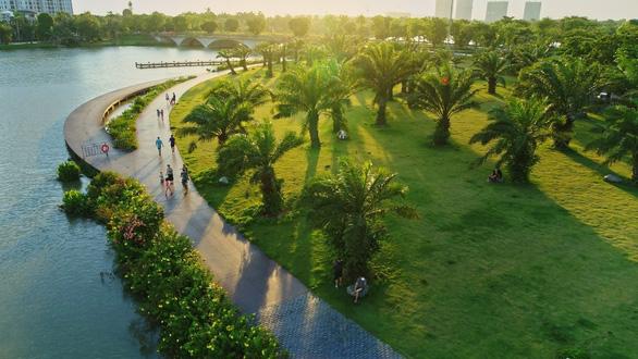Báo Mỹ ấn tượng với triệu cây xanh tại đô thị Ecopark - Ảnh 3.
