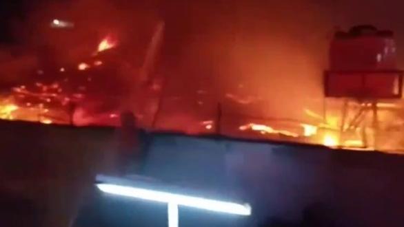 Cháy nhà tù ở Indonesia, 41 người thiệt mạng - Ảnh 1.