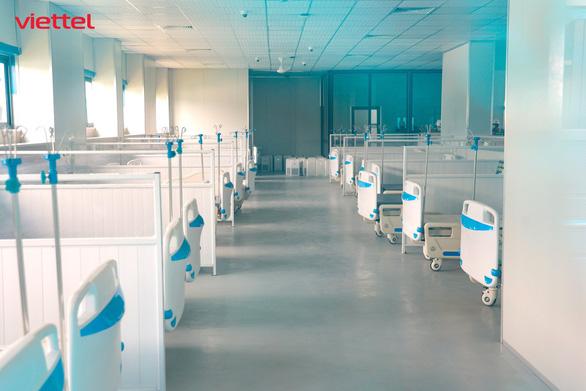 Viettel hoàn thành hạ tầng CNTT cho bệnh viện dã chiến hiện đại nhất Hà Nội - Ảnh 2.