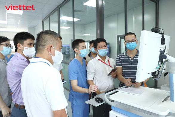 Viettel hoàn thành hạ tầng CNTT cho bệnh viện dã chiến hiện đại nhất Hà Nội - Ảnh 1.