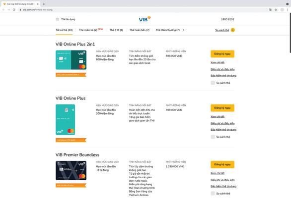 VIB lập cú đúp giải thưởng quốc tế về thẻ tín dụng - Ảnh 2.